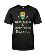 Social Distancing Keep Calm and Keep Your Classic T-Shirt thumbnail