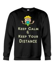 Social Distancing Keep Calm and Keep Your Crewneck Sweatshirt thumbnail