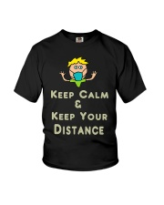 Social Distancing Keep Calm and Keep Your Youth T-Shirt thumbnail