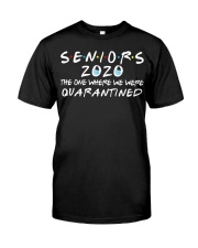 Seniors 2020 The One Where We Were Quarantined Classic T-Shirt thumbnail