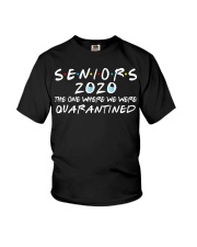 Seniors 2020 The One Where We Were Quarantined Youth T-Shirt thumbnail