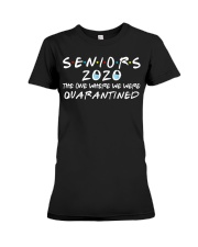 Seniors 2020 The One Where We Were Quarantined Premium Fit Ladies Tee thumbnail