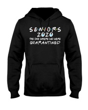 Seniors 2020 The One Where We Were Quarantined Hooded Sweatshirt front