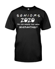 Class Of 2020 Graduation Senior Funny Quarantine Classic T-Shirt thumbnail