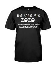 Class Of 2020 Graduation Senior Funny Quarantine Premium Fit Mens Tee thumbnail