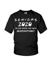 Class Of 2020 Graduation Senior Funny Quarantine Youth T-Shirt thumbnail