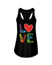 Preschool Teacher Shirts Valentines Day Boys Ladies Flowy Tank thumbnail