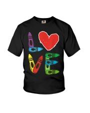 Preschool Teacher Shirts Valentines Day Boys Youth T-Shirt thumbnail