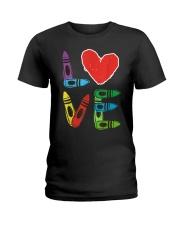 Preschool Teacher Shirts Valentines Day Boys Ladies T-Shirt thumbnail