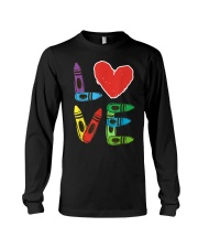 Preschool Teacher Shirts Valentines Day Boys Long Sleeve Tee thumbnail