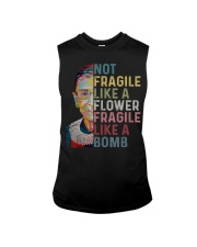 Ruth Bader Ginsburg Quote - Feminist Women Gifts Sleeveless Tee thumbnail