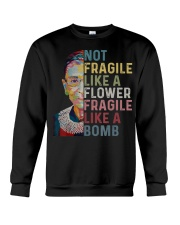 Ruth Bader Ginsburg Quote - Feminist Women Gifts Crewneck Sweatshirt thumbnail