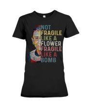 Ruth Bader Ginsburg Quote - Feminist Women Gifts Premium Fit Ladies Tee thumbnail
