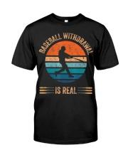 Baseball Withdrawal Is Real for Softball Lover  Classic T-Shirt thumbnail