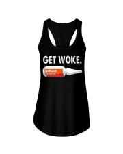 Get Woke Narcan Drug T-Shirt Ladies Flowy Tank thumbnail