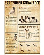 RAT TERRER Knowledge 11x17 Poster front
