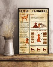 IRISH SETTER Knowledge 11x17 Poster lifestyle-poster-3