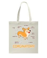 Corgi Anatomy Tote Bag Tote Bag front