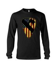 1st Cavalry Division with flag Long Sleeve Tee thumbnail