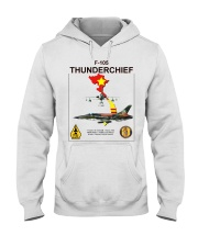 F-105 THUNDERCHIEF-VIETNAM WAR Hooded Sweatshirt thumbnail