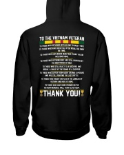 THANK YOU VIETNAM VETERAN Hooded Sweatshirt thumbnail
