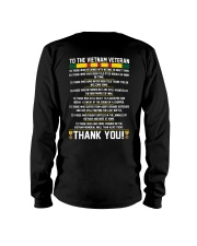 THANK YOU VIETNAM VETERAN Long Sleeve Tee thumbnail