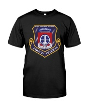 82ND AIRBORNE DIVISION-PROUD VETERAN Classic T-Shirt front