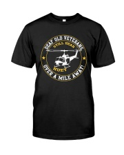OVER A MILE AWAY Classic T-Shirt front