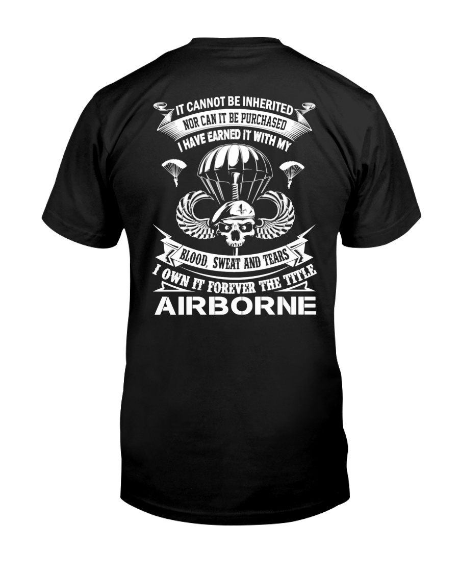 BLOOD-SWEAT AND TEARS-AIRBORNE Classic T-Shirt
