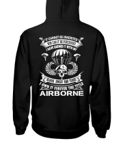 BLOOD-SWEAT AND TEARS-AIRBORNE Hooded Sweatshirt thumbnail