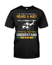 HEARD A HUEY Classic T-Shirt front