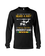 HEARD A HUEY Long Sleeve Tee thumbnail