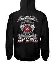 I AM A US VETERAN Hooded Sweatshirt thumbnail