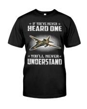 HEARD F-111 AARAVARK Classic T-Shirt front