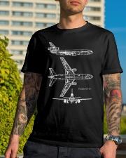 DOUGLAS DC-10 Classic T-Shirt lifestyle-mens-crewneck-front-8