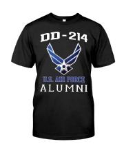 DD-214 ALUMNI-US AIR FORCE Classic T-Shirt front