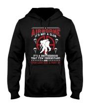 AIRBORNE-IT'S NOT A CLUB Hooded Sweatshirt thumbnail