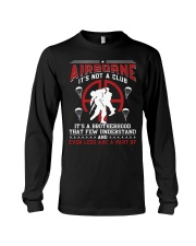 AIRBORNE-IT'S NOT A CLUB Long Sleeve Tee thumbnail