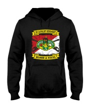 3RD CAVALRY REGIMENT-BLOOD AND STEEL Hooded Sweatshirt thumbnail