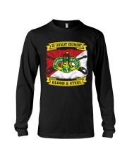 3RD CAVALRY REGIMENT-BLOOD AND STEEL Long Sleeve Tee thumbnail