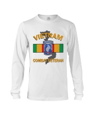 VIETNAM-COMBAT VETERAN Long Sleeve Tee tile
