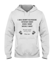 I AM A GRUMPY OLD Hooded Sweatshirt thumbnail