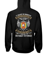 IT CAN NOT BE INHERITED-VIETNAM VETERAN Hooded Sweatshirt tile