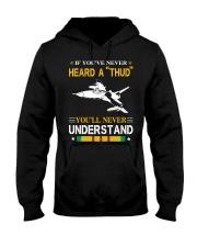 HEARD A THUD-UNDERSTAND Hooded Sweatshirt thumbnail