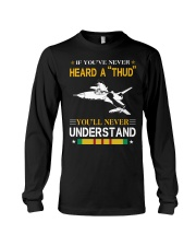 HEARD A THUD-UNDERSTAND Long Sleeve Tee thumbnail