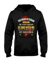 VIETNAM VETERAN-MY BROTHER Hooded Sweatshirt thumbnail