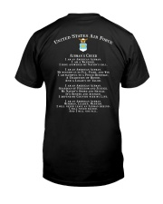AIRMANS CREED Classic T-Shirt back