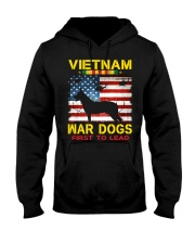 VIETNAM-WAR DOGS-FIRST TO LEAD Hooded Sweatshirt thumbnail