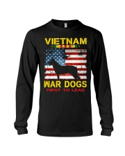 VIETNAM-WAR DOGS-FIRST TO LEAD Long Sleeve Tee thumbnail
