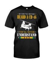 HEARD A CH-46 Classic T-Shirt front